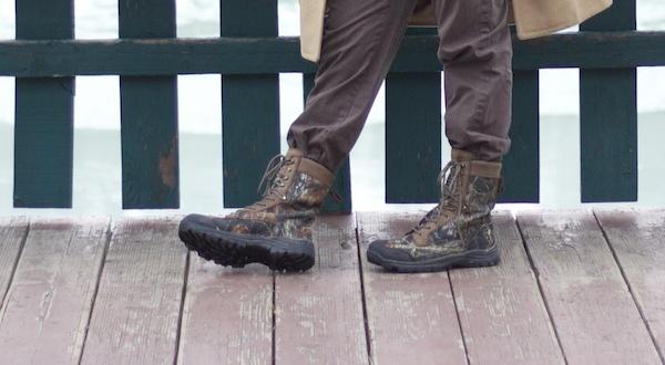 Nice Alaskan footwear