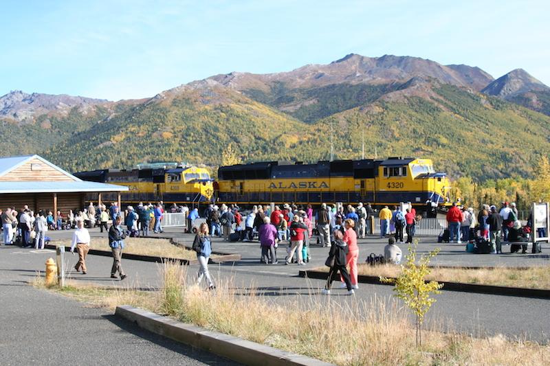 Denali Train depot