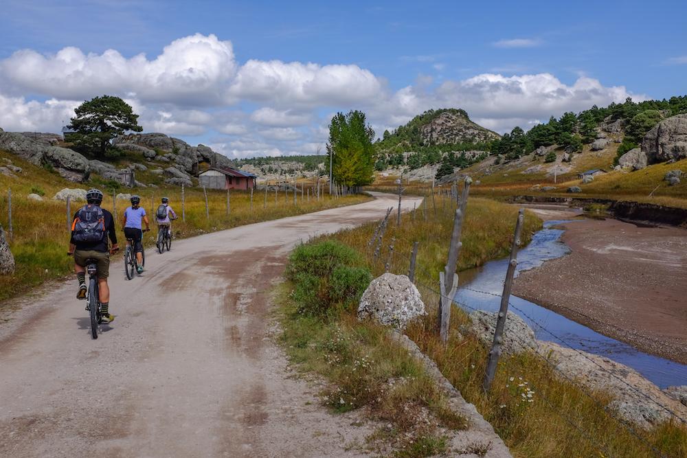 Creel mountain biking