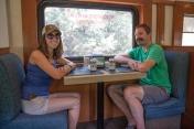 El Chepe dining car
