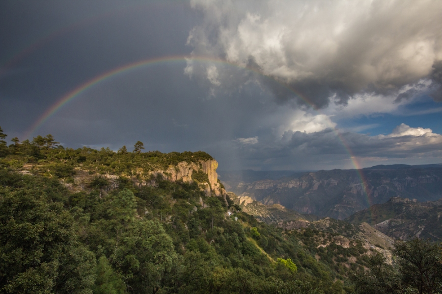 Copper Canyon rainbow