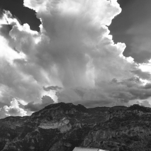 Dramatic storm over the Copper Canyon