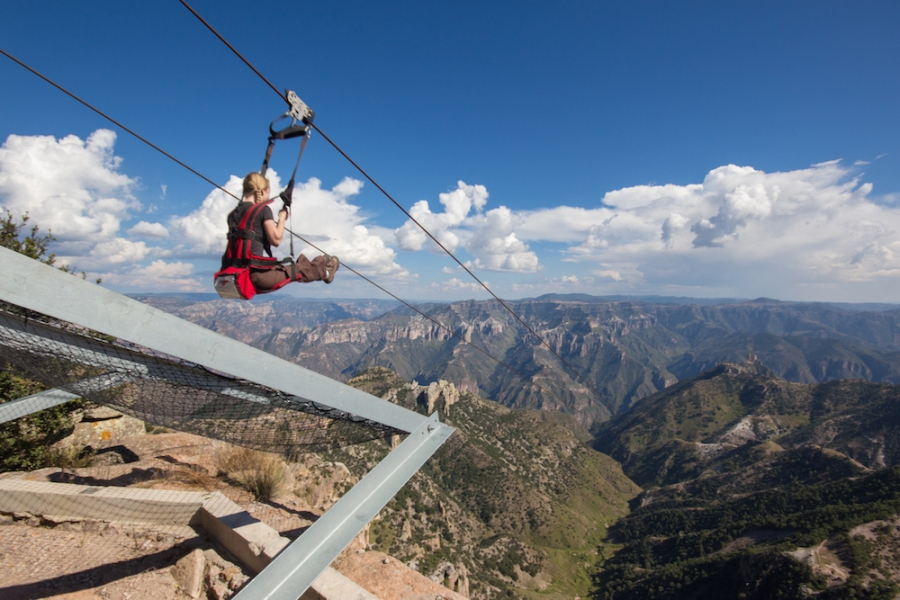 Copper Canyon zip line