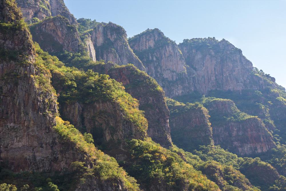 Copper Canyon cliffs