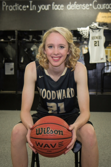 Hillary Hurst basketball