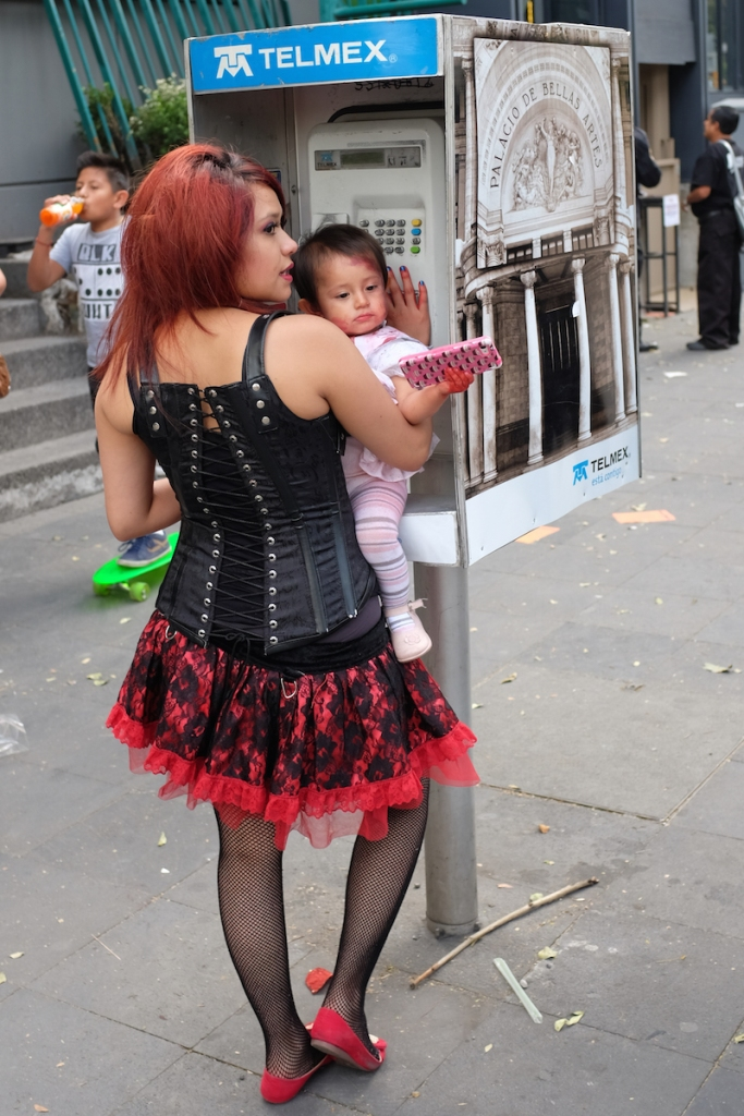 A hooker with a bloody baby - probably won't win any mother of the year awards