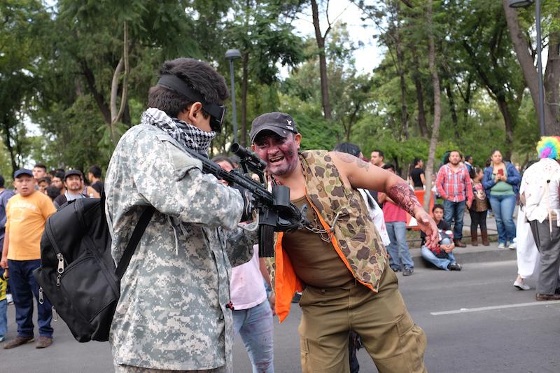 zombie vigilantes