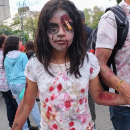 Mexico City Zombie girl