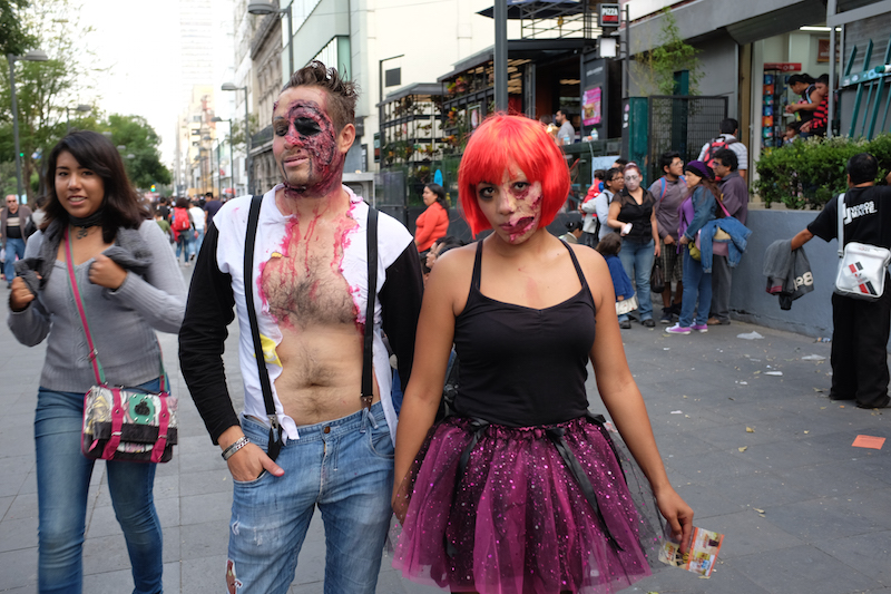 Mexico City Zombie Walk