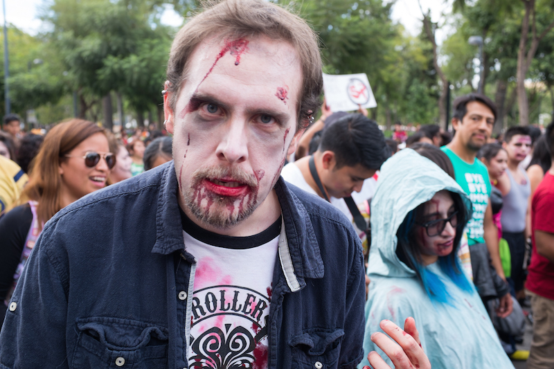 Mexico City Zombie Parade4