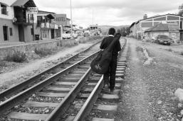Creel train tracks