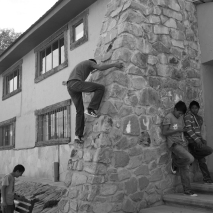 Creel rock climbing