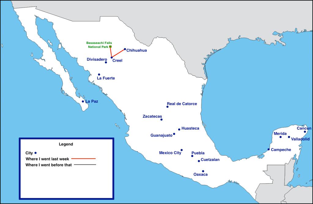 Mexico Trip Week 1