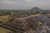 Teotihuacan in the rain