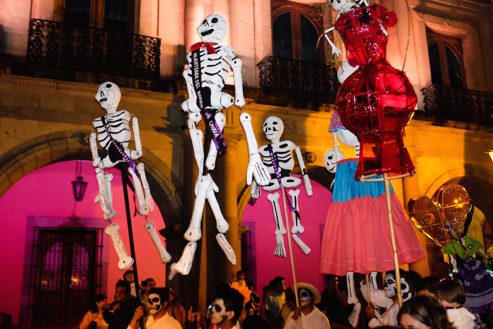 Day of the Dead parade