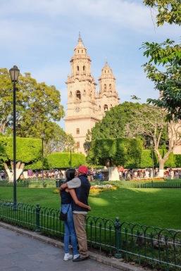 Morelia Plaza de Armas