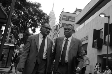 Mexico City Street Photo Men in suits