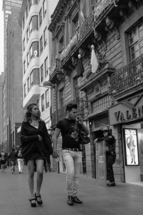 Mexico City black white