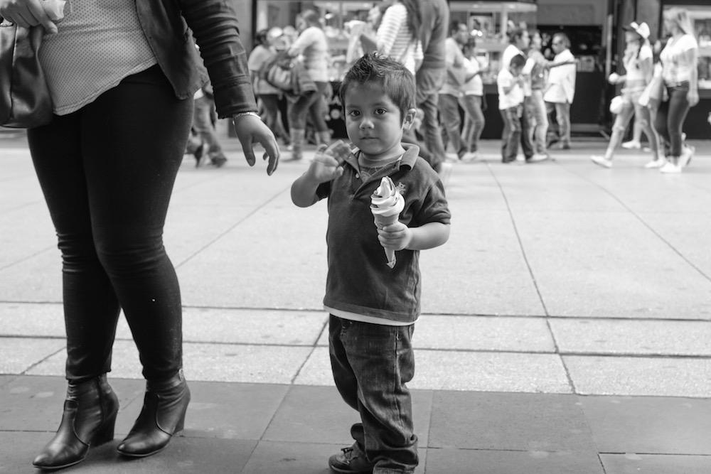 Mexico City boy