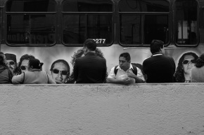 Mexico City Street Photography in Black & White