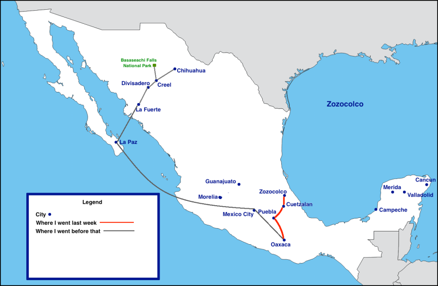 Mexico Trip-week5