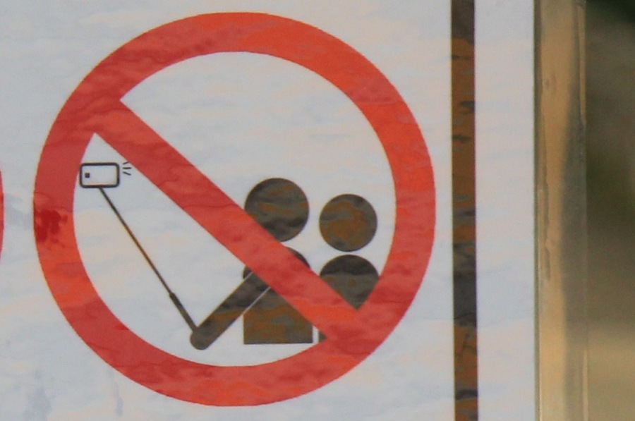 Banned Selfie stick