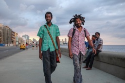 Cool Cuban dudes on the Malecon