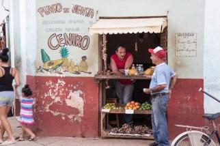Trinidad fruit vendor