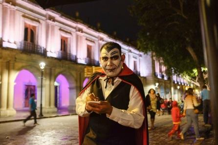 Day of the Dead Oaxaca waiter