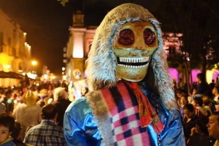Day of the Dead parade Oaxaca