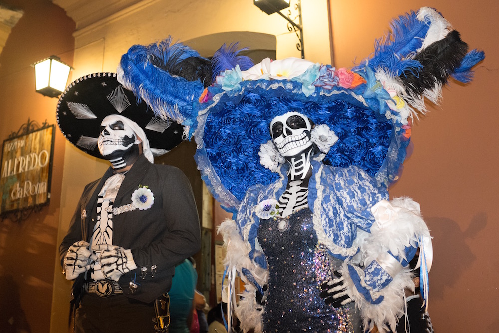Catrinas in Oaxaca at Day of the Dead