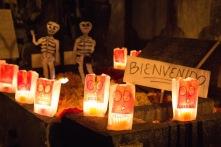 Oaxaca children's grave