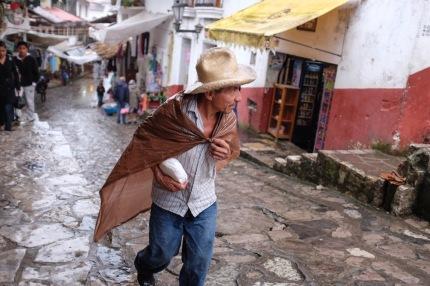 Cuetzalan in the rain