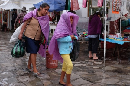 Cuetzalan Mexico rain