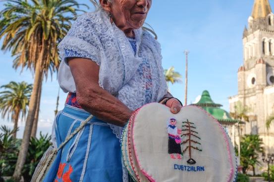 Cuetzalan Mexico Vendor