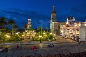 Cuetzalan Mexico main plaza