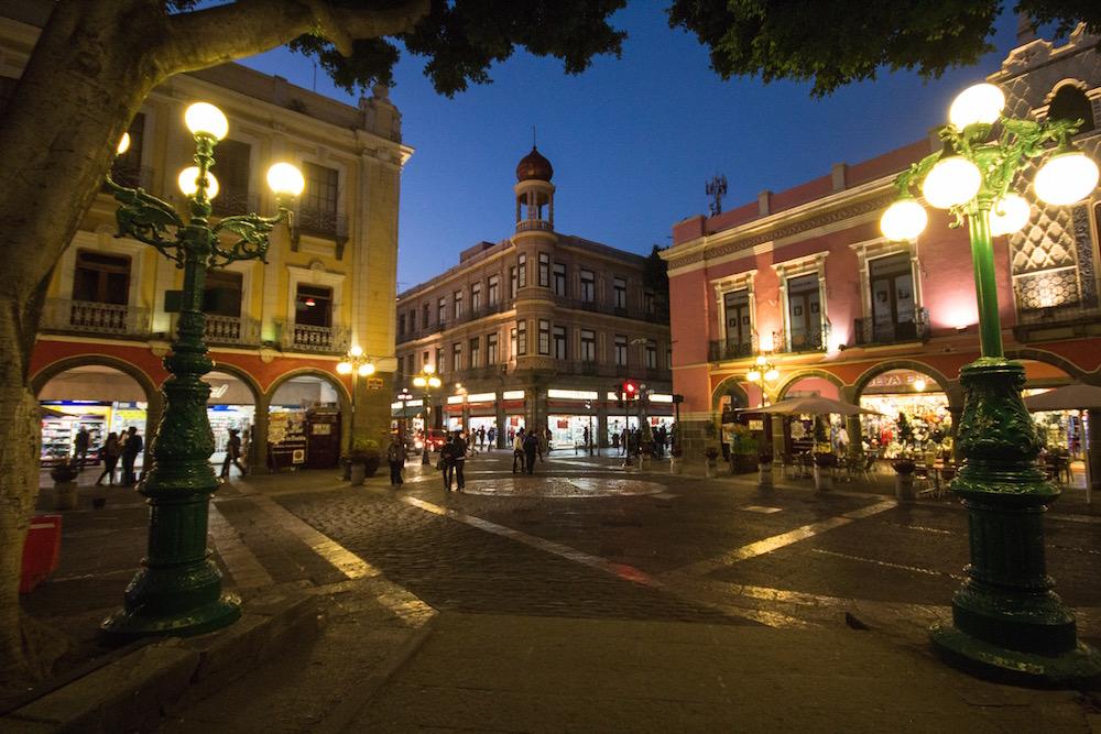 Puebla Mexico Zocalo