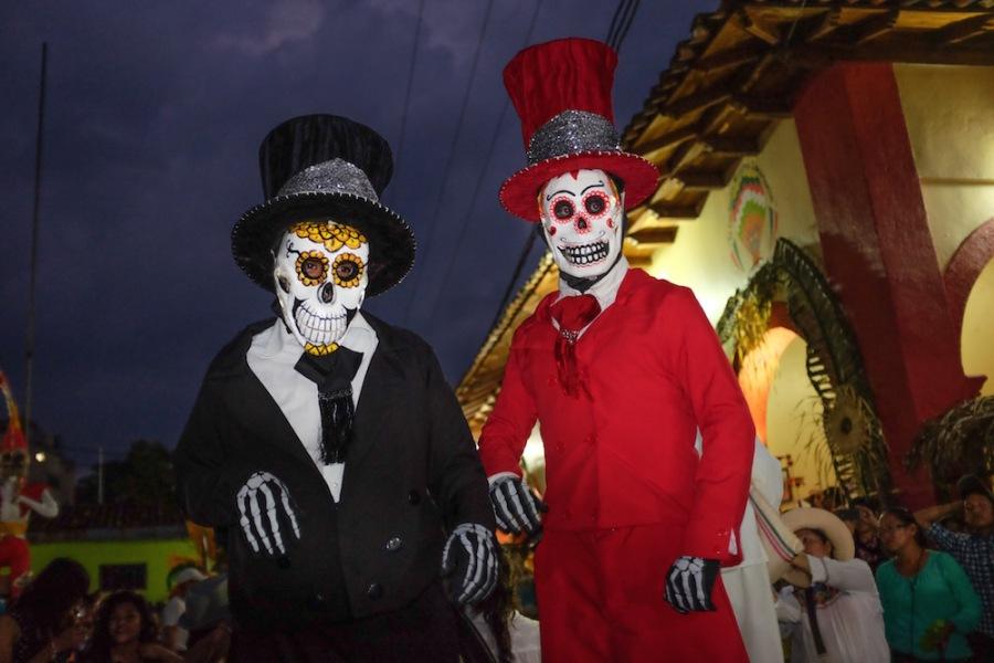 Zozocolco day of the dead dancers