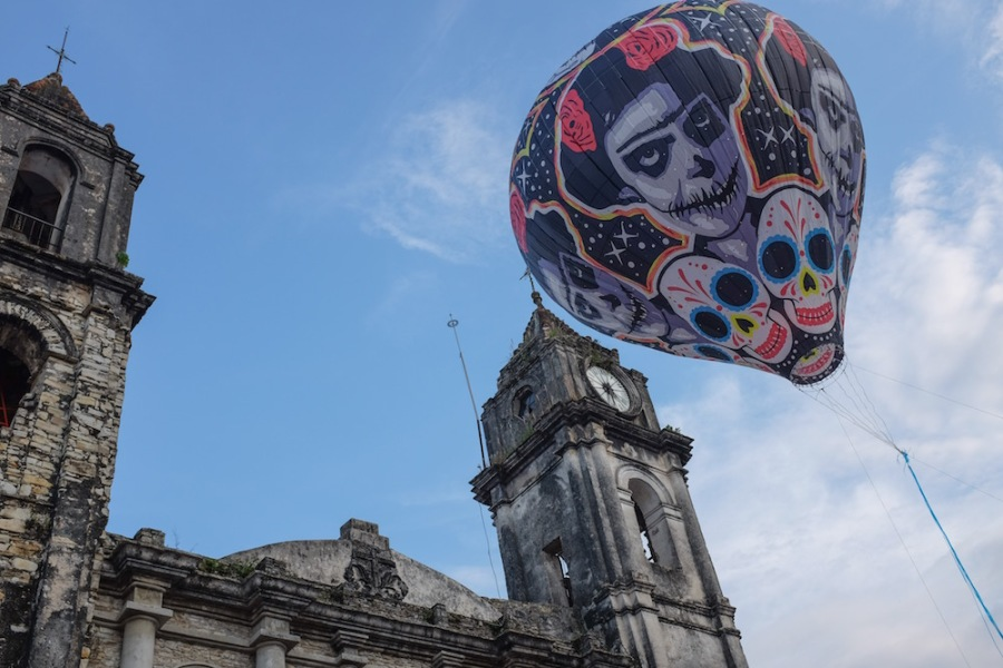 Zozocolco balloon launch