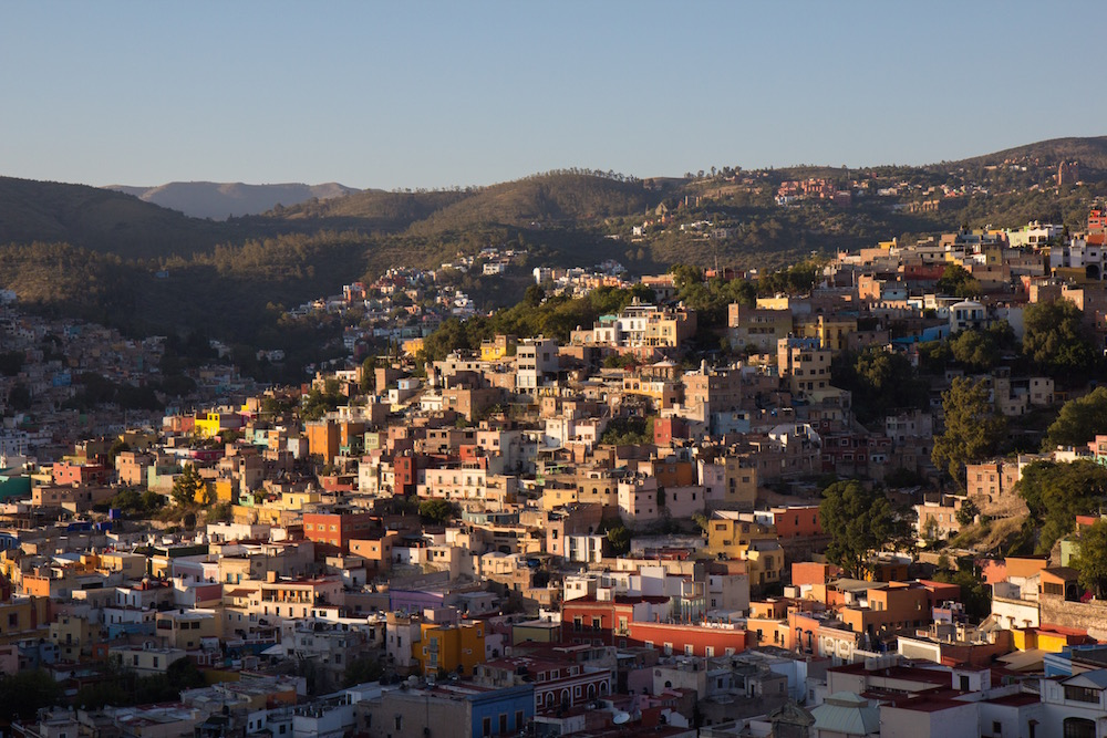 Guanajuato from above