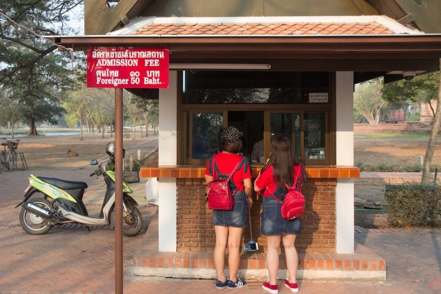 Ayutthaya two prices