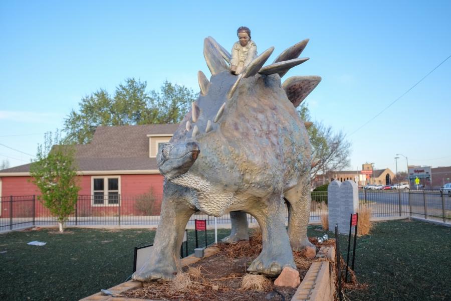 Woodward Oklahoma Dinosaur5