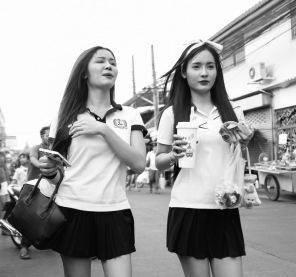Pretty girls in Bangkok