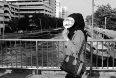Muslim woman Bangkok