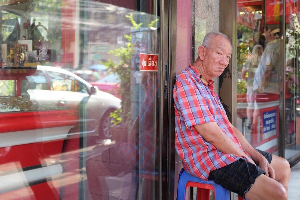 Chinese man in Bangkok