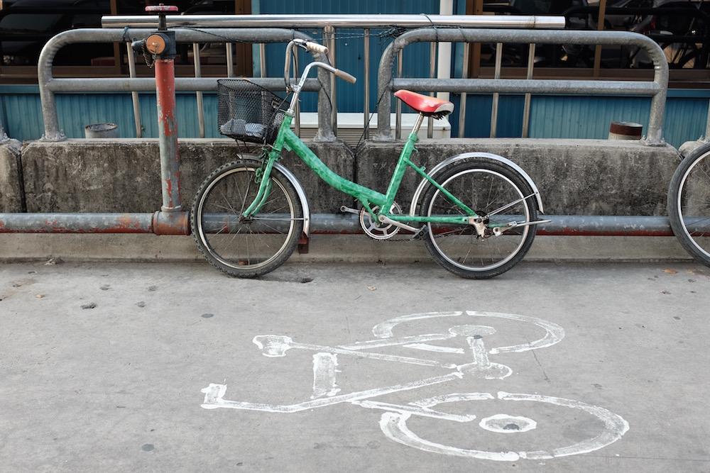 Bangkok bike path