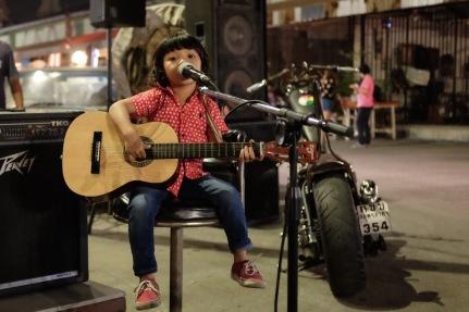 Girl at the gypsy market