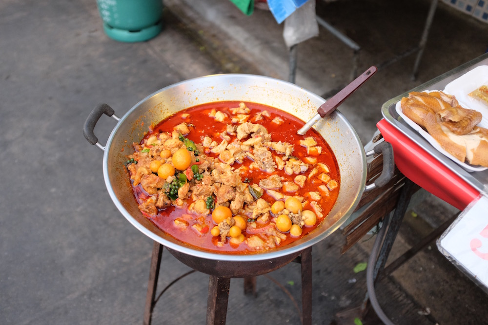 Spicy street food