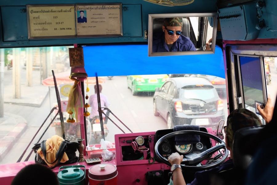 Bus driver Bangkok