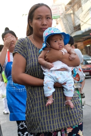 Baby in Bangkok